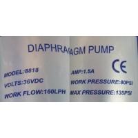 Boosterpumpe til 400-500GPD membran med strømforsyning