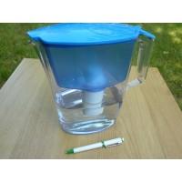 Filterkande blå 2.5L m. basisk antioxidant filter