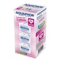 3 kulfilterpatroner MAXFOR m. magnesium (a la Brita Maxtra)