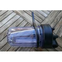 Filterhus BB10, 10'' x 4,5'', klart, 1'' gevind, kun plastic