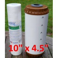 Jern/okker-filter 10'' x 4.5'' BB10