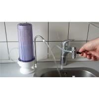 Køkkenbordsfilter med kombifilter: sediment ogkulfilter
