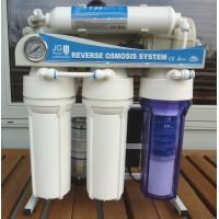 Osmoseanlæg 500GPD SideStream, pumpe 1 time, spildvand 1:1, 50 L/H