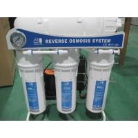 Osmoseanlæg 600GPD, pumpe 12 timer, 80 L/H, Quick Change inline filtre
