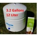 12,1 liter vandtank metal