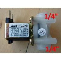 """Magnetventil DC24V 1/4"""" gevind"""