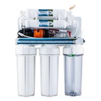 Osmoseanlæg, pumpe, 12L tank, mineralfilter